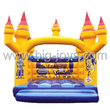 inflatable crown bouncer,inflatable commercial bouncy castle