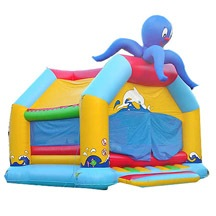 inflatable octopus bouncy castle,inflatable animal indoor bouncy castle