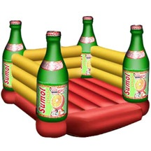 inflatable bottle bouncer,inflatable beer bouncer