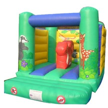 inflatable small animal bouncer,inflatable kids jump trampoline