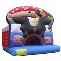 inflatable exciting pirate bouncer,inflatable children jumping bouncer for sale