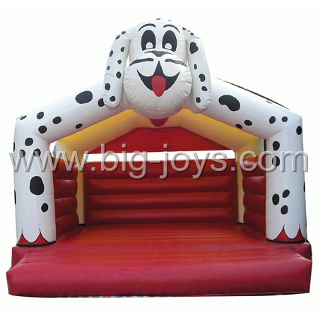 inflatable dalmatians bouncer,inflatable commercial animal bounceland