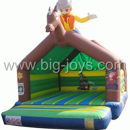 inflatable cowboy bouncer,inflatable bounce sport