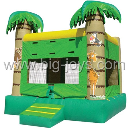 inflatable palm tree bouncer,inflatable jumping castle
