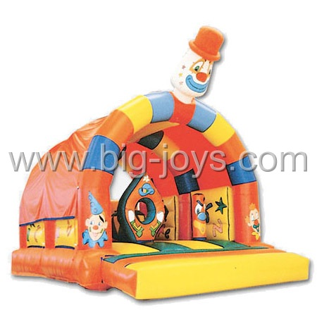 inflatable clown bouncy castle,inflatable exciting bouncer for sale