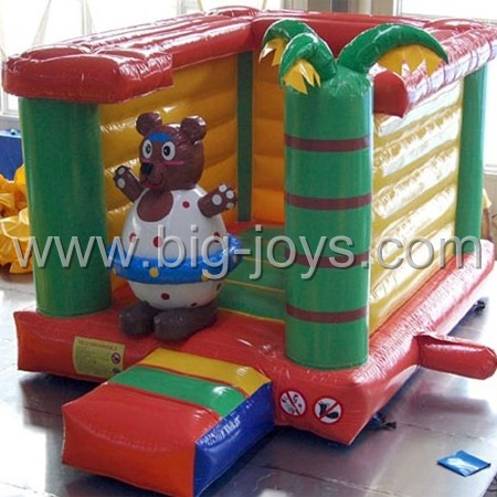 inflatable mini bear bouncer,inflatable kids mini bouncer for sale