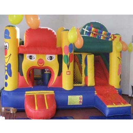 inflatable clown bouncer slide,inflatable cheap jumping castle for sale