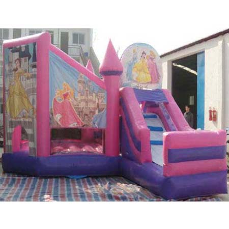inflatable disney bouncer slide,inflatable play bounce slide for sale
