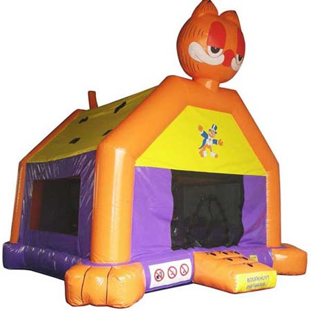 inflatable garfield bounce house,inflatable commercial bounce house for sale