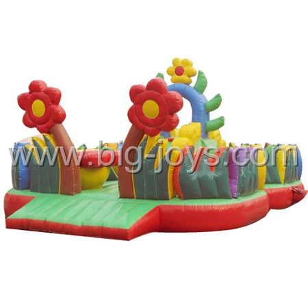 inflatable sunflower bouncer,inflatable flower bouncer for sale