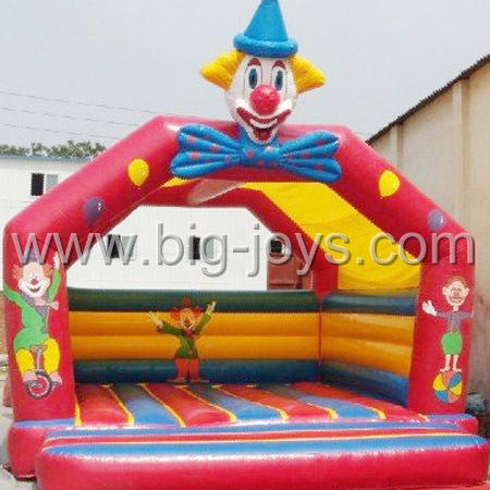 inflatable clown jumping,inflatable kids jumpingland