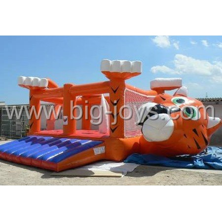inflatable tiger bouncer,inflatable animal bouncer for sale