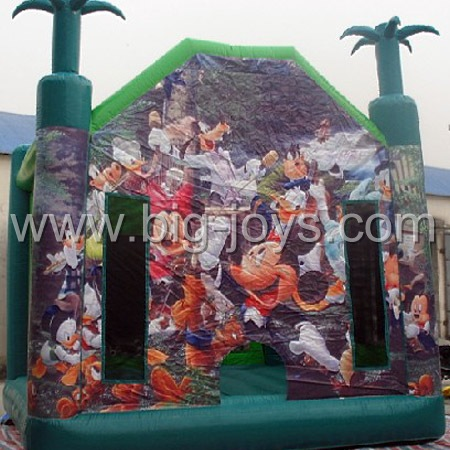inflatable jungle bouncer,inflatable theme bouncer for sale
