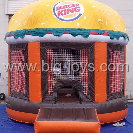 inflatable hamburg bouncer,inflatable air bouce house for sale