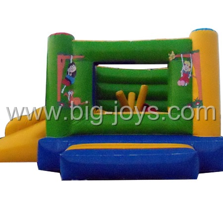 inflatable mini bounce slide,small kids bounce slide for sale