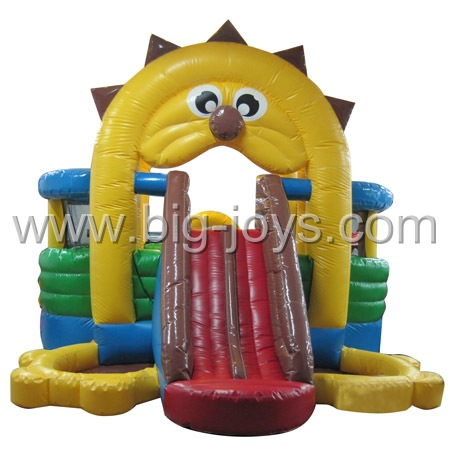 inflatable lion bouncer,inflatable air bounce trampoline for children
