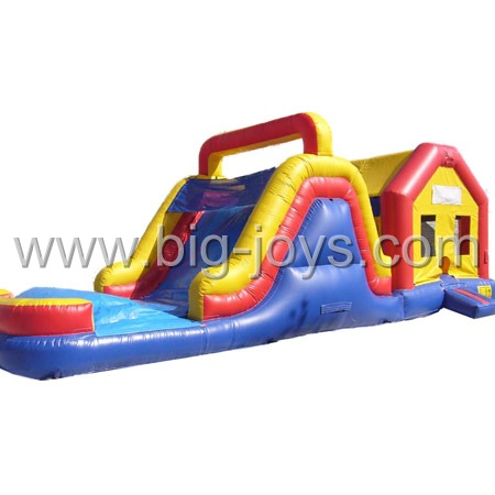 inflatable combo with pool