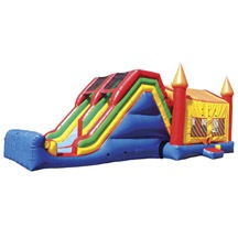 children inflatable combo game