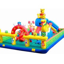 Inflatable Winnie the Pooh bouncer, inflatable winnie castle