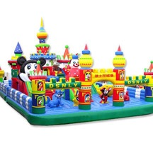 inflatable mickey mouse park,large inflatable playground