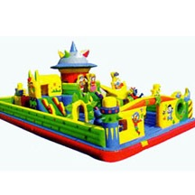 outdoor inflatable fun city,high quality inflatable fun city