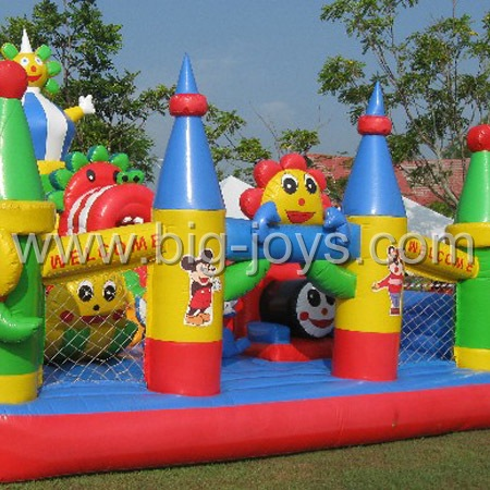 big inflatable funcity,inflatable bouncy jump for sale