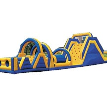 fun obstacle game, Inflatable Obstacle Game