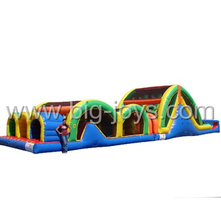 Inflatable Obstacle Castle, Inflatable Games China, Jumping Castle Obstacle