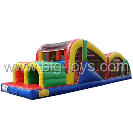 Inflatable Racing Obstacle, Inflatable Racing Sport Game, Castle Obstacle