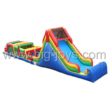 Giant Obstacle Course, Military Inflatable Obstacle Course