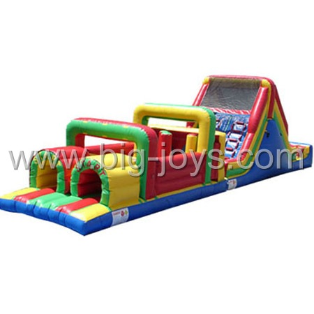 Kids Inflatable Obstacle, Inflatable water obstacle Course , Inflatable Bounce Obstacle