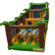 inflatable jungle obstacle,sale cheap obstacle