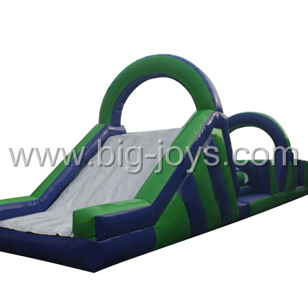 Inflatable Obstacle With Slide,Small Inflatable Climbing Obstacle,Space Shuttle Obstacle Course