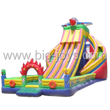 Inflatable Airplane Slide, Inflatable Amusement Park