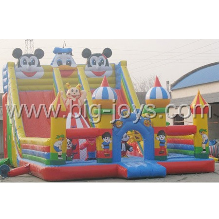 Disney Inflatable Playground, Inflatable Children Playground, Inflatable Playground Slide