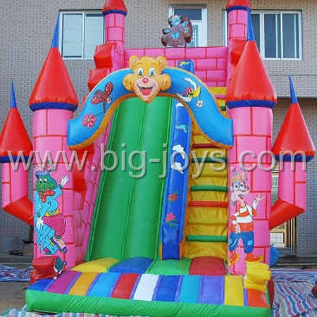 Inlfatable Party Slide, Air Castle Slide , Inflatables Structure