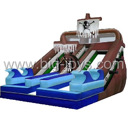 Inflatable Pirate Slide, Pirate Inflatable, Large Inflatable Slide