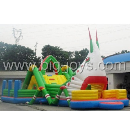 Dual Lane Inflatable Slide, Double Lane Slip Slide