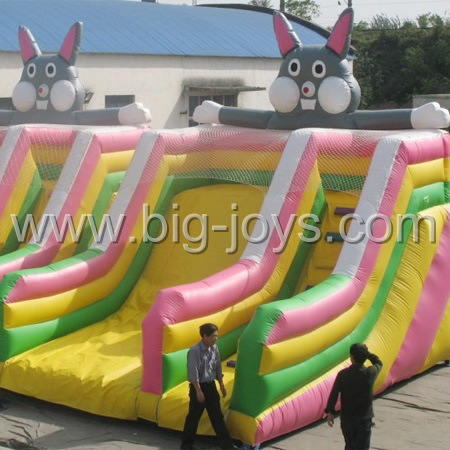 Inflatable Sliding Way,  Large Inflatable Slide