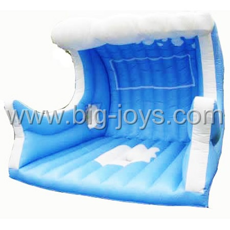 Surfing machine mat,inflatbale surf game