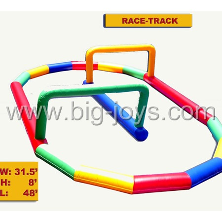 inflatable air tumble track,inflatable race track for sale