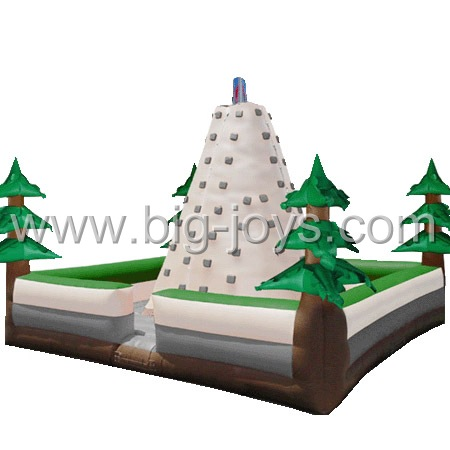 inflatable jungle climbing tower,inflatable theme climbing