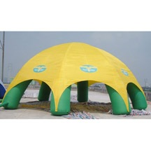 inflatable round camping tent