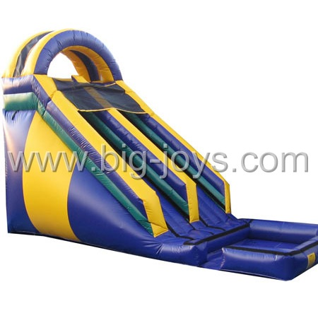 commercial inflatable water slide with CE