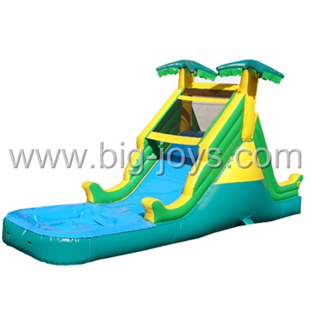 Attractive Inflatable Tropical Water Slide