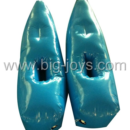 inflatable water shoes,inflatable lake games