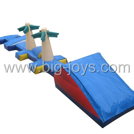 Aqua Crossing Game, inflatable water crossing game.