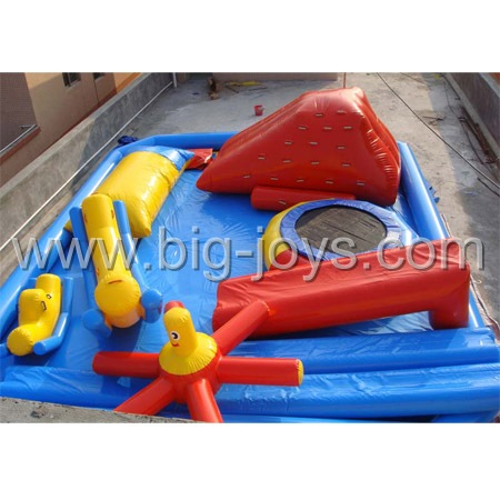 Inflatable Water Park Elements, Inflatable water park.
