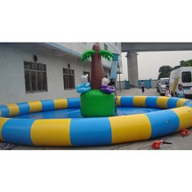 colorful inflatable pool for kids