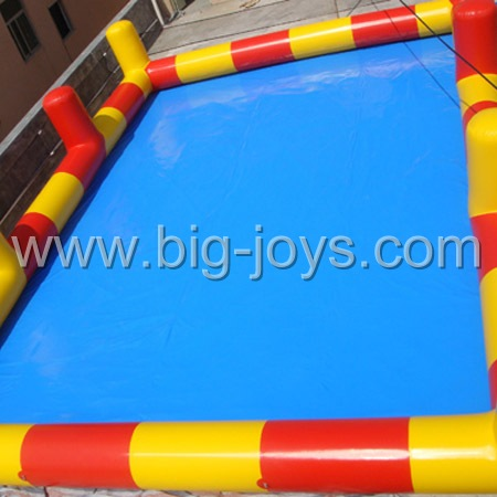 floating inflatable boat swimming pool
